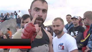 Боксер против Бойца ММА - работа ручками !!