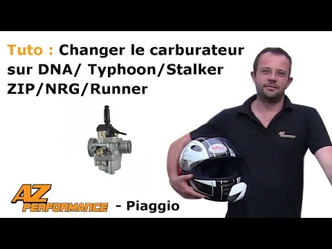 Changer le carburateur de son Typhoon / Stalker / Zip / ...