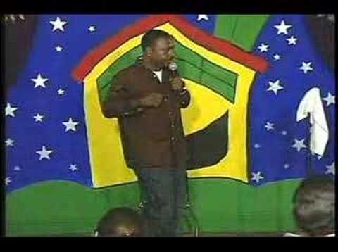Comedian Mark Simmons