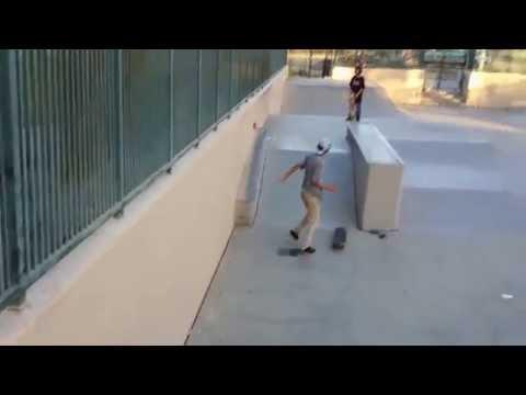 Tour of Huntington Park skatepark.