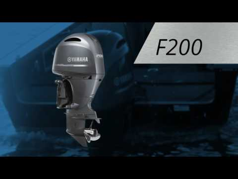 Yamaha F200 I-4 2.8L Digital 25 in Oceanside, New York - Video 1