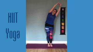 New class type - Yoga infused with HIIT