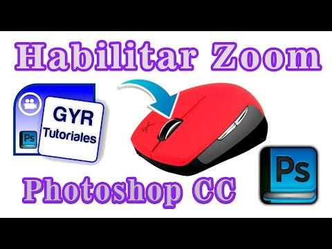 Tutoriales Photoshop 2017 // Como Habilitar el Zoom Con la Rueda de Desplazamiento del Ratón
