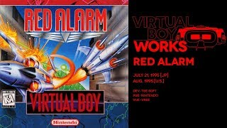 Red Alarm retrospective: Fear of a black and red planet | Virtual Boy Works #04