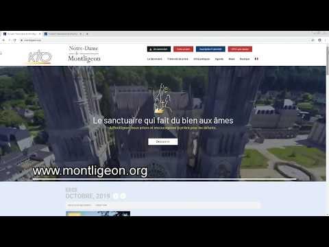 Le site web du Sanctuaire de Montligeon