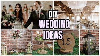 DIY WEDDING DECOR │ ABOUT MY WOODLAND WEDDING DECOR