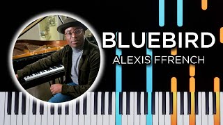 Bluebird (Alexis Ffrench)   Piano Tutorial
