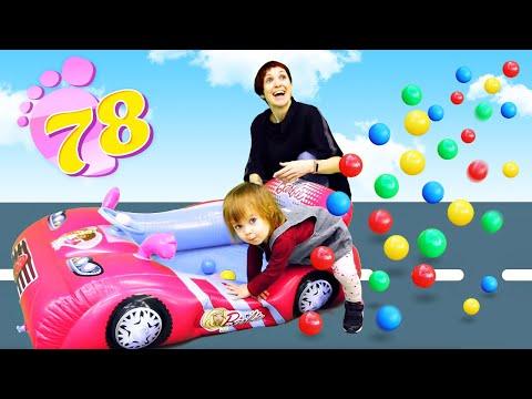 Привет, Бьянка - Надувная машинка на День Рождения - 1,5 года