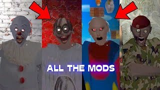 All the mods of Granny - The Evolution - PART 2