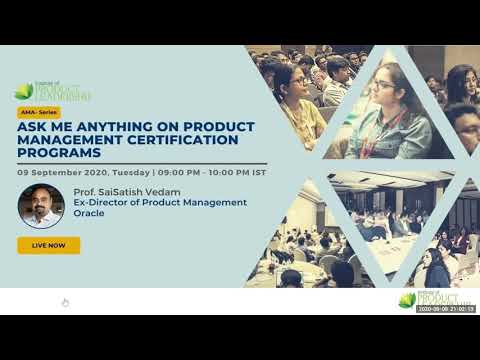 Ask Me Anything on Product Management Certifications By Prof ...