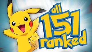 Ranking All 151 Original Pokémon From Worst To Best