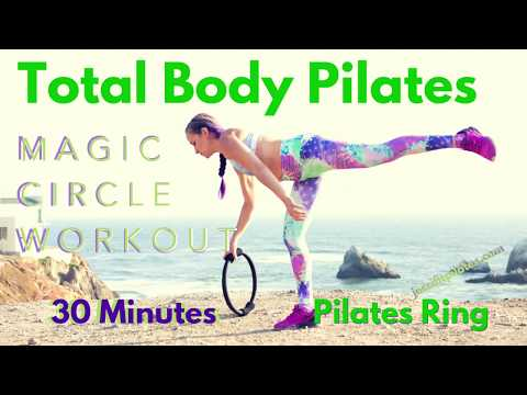 Total Body Pilates with the Magic Circle  30 Minute Workout- Pilates Ring