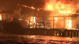 Tin Tức 24h: Cháy lớn tại Khánh Hòa, thiêu rụi hàng chục căn nhà