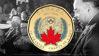 The Royal Canadian Mint Honours UN75!