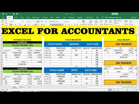 free excel training for accountants - YouTube