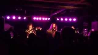 George Lynch-Lost behind the wall/Alone again--LynchMob-Fresno 2-16-14 @ Strummer's