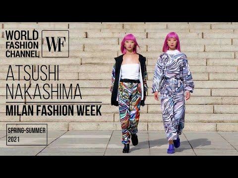 ATSUSHI NAKASHIMA весна-лето 2021 | Неделя моды в Милане