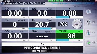 "Блок измерения дымности CAP3600EX-OM Capelec от компании ТОВ ""ДІАГНОСТІК-ЛАЙН"" - видео"