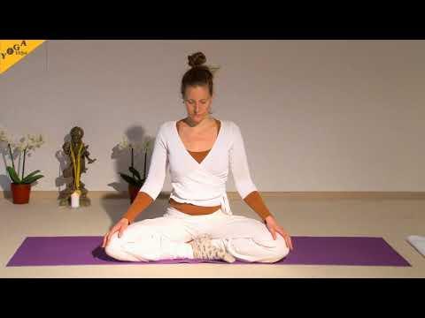 Raja Yoga Chakrakonzentration - 55 Minuten mit Vorkenntnissen - mit Sukadev und Lea