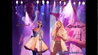 Covers by Demi Lovato and Ariana Grande live