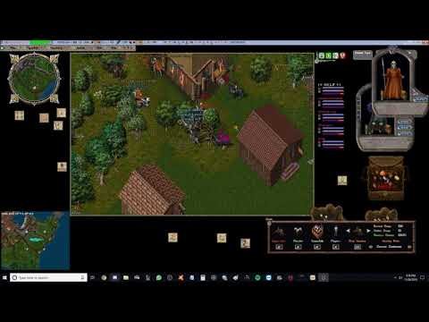 Ultima Online Outlands!!! Streaming by Machinegun  Farm