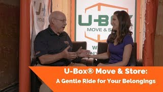 U-Box® Move & Store: A Gentle Ride for Your Belongings