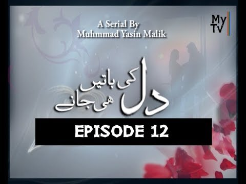 Drama Serial Dil Ki Batain Dil He Jaanay Episode 12