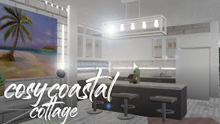 BLOXBURG| Cosy Coastal Cottage 27k