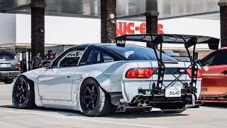 BEFORE & AFTER || Building A 2JZ Nissan 240sx in 10 Minutes! PART 1 - Ep.14 (Heavily Modifying)