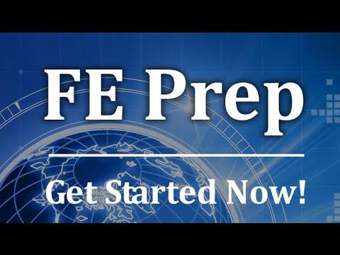 FE Prep - Free Fundamentals of Engineering Exam - YouTube