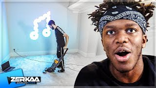 We Gave KSI's BEDROOM a MAKEOVER in 24 HOURS!
