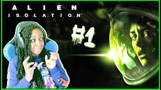 WHERE IS IT?!? | Alien: Isolation Episode 1 Gameplay!!