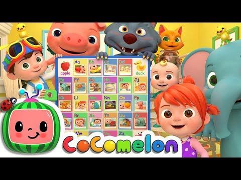 ABC Phonics Song   ABCkidTV Nursery Rhymes & Kids Songs