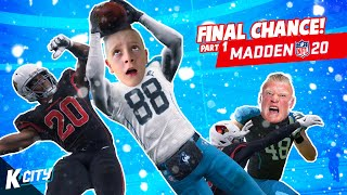 Final Chance in Madden Part 1! (Huskies NFC Championship) K-CITY GAMING