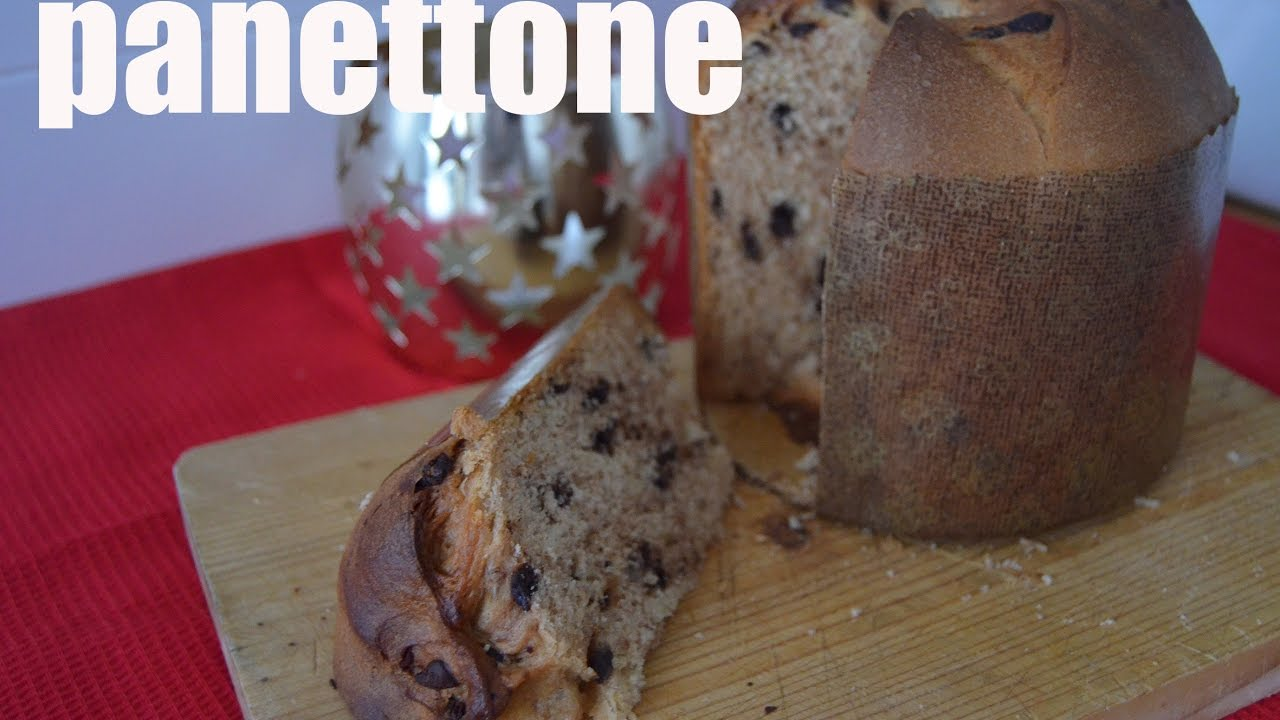 PANETTONE, receta grabada con GoPro