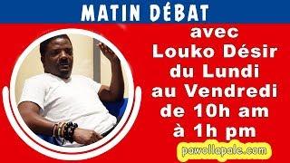 MATIN DÉBAT - Mercredi 12 Décembre 2018 / Louko Désir & Konpayi