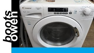 Candy Grand O washing machine fault and how to check filter