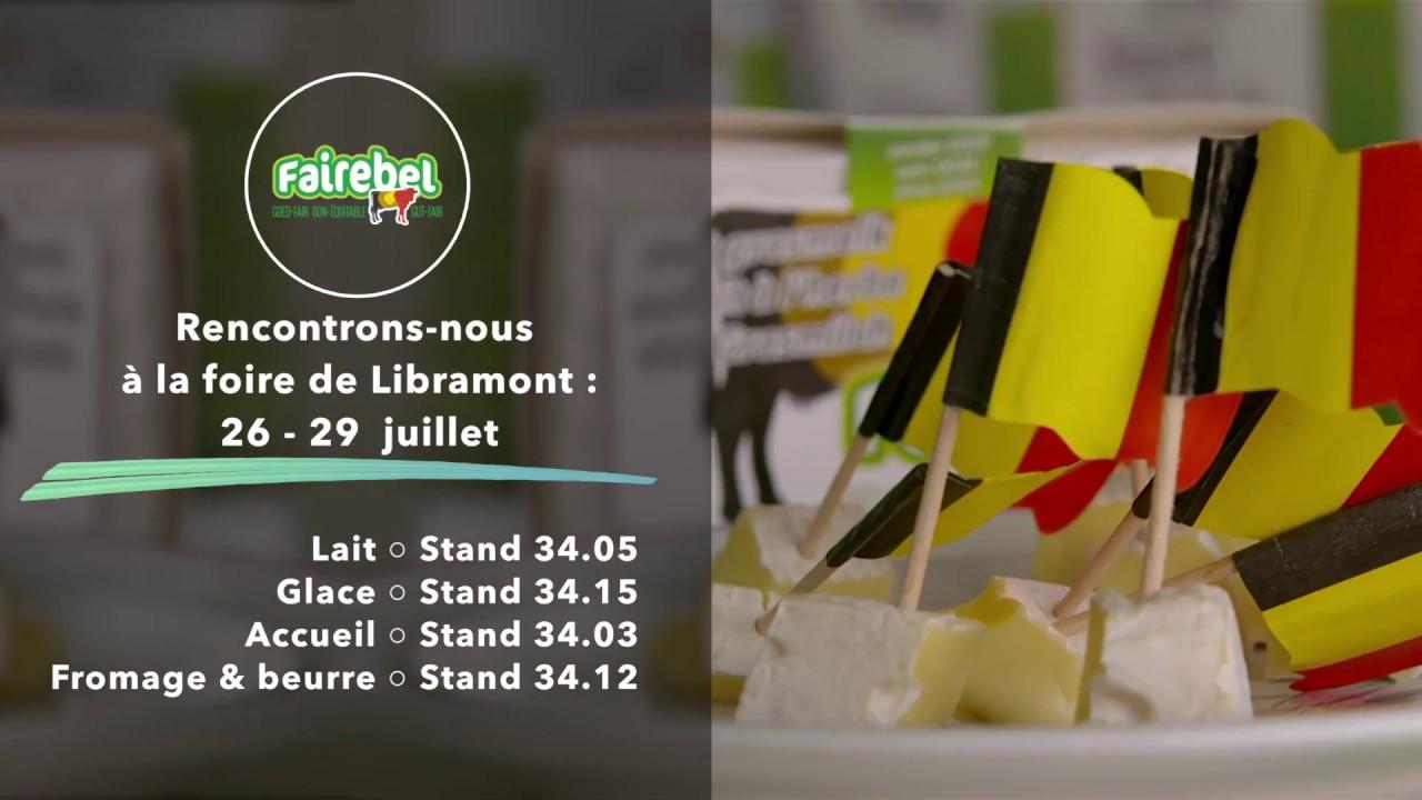 Rencontrons-nous à la foire de Libramont