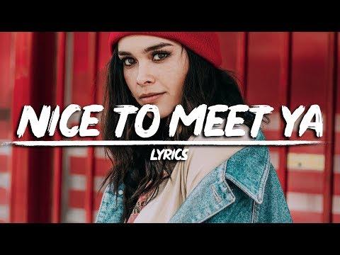 Meghan Trainor - Nice To Meet Ya (Lyrics) feat. Nicki Minaj