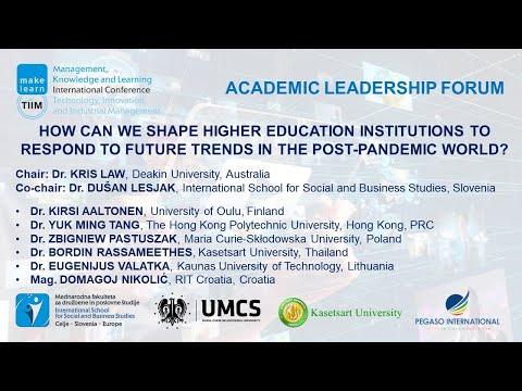 Academic Leadership Forum