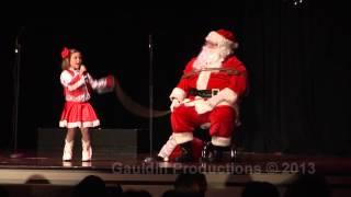 """Jiorgia Singing """"I'm Gonna Lasso Santa Claus"""""""