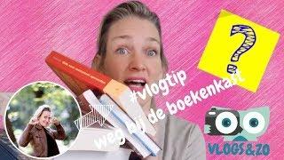 #vlogtip Weg bij de boekenkast