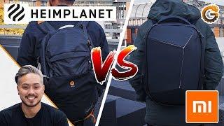 Heimplanet VS XIAOMI RUCKSACK: Was kann der Rucksack aus china?
