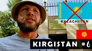 """KIRGISTAN 🇰🇬 NIE DOSTAŁEM WIZY DO KAZACHSTANU ! Co teraz? """"Nudna"""" stolica Biszkek – #6"""