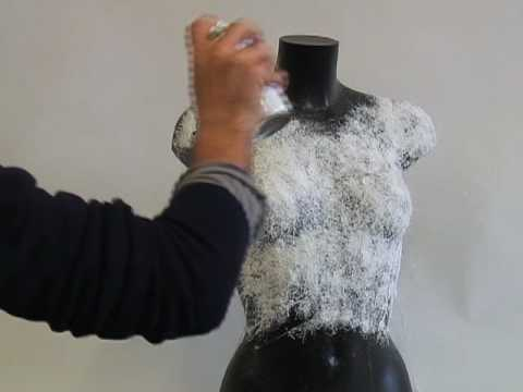 The Unflattering Future Of Fashion: Spray-On Clothes