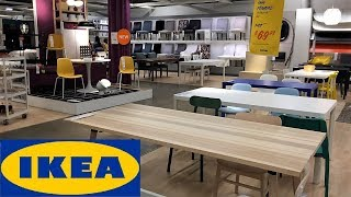 IKEA KITCHEN FURNITURE TABLES CHAIRS ARMCHAIRS HOME DECOR SHOP WITH ME SHOPPING STORE WALK THROUGH