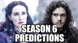 Game of Thrones Season 6 Jon Snow Predictions & Season 5 Finale Review