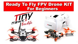 A Good all in one FPV Drone Kit for Beginners - Tiny Hawk II Freestyle RTF Kit Review