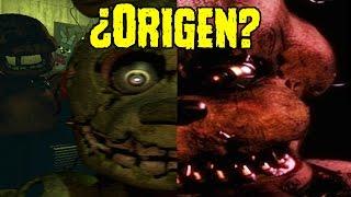 El ¿Origen Del Nuevo Animatronico De Five Nights At Freddy's 4?   FNAF 4