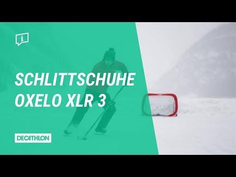 Größenverstellbarer Eishockey Schlittschuh | XLR 3 Oxelo